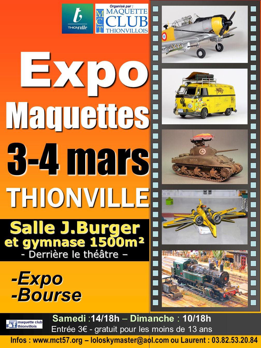 16e Expo maquettes du Maquette Club Thionvillois